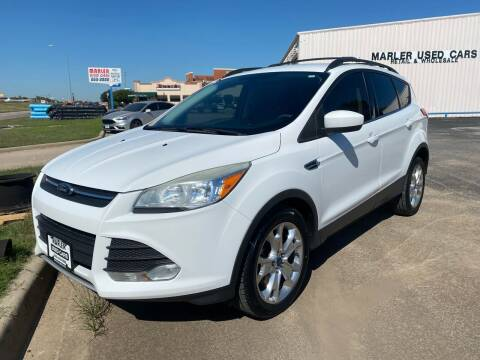 2013 Ford Escape for sale at MARLER USED CARS in Gainesville TX