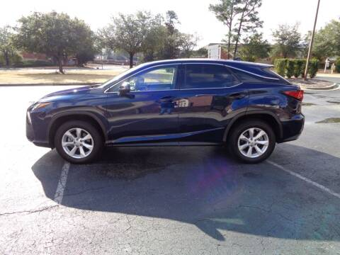 2017 Lexus RX 350 for sale at BALKCUM AUTO INC in Wilmington NC