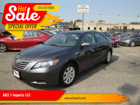 2009 Toyota Camry Hybrid for sale at A&S 1 Imports LLC in Cincinnati OH