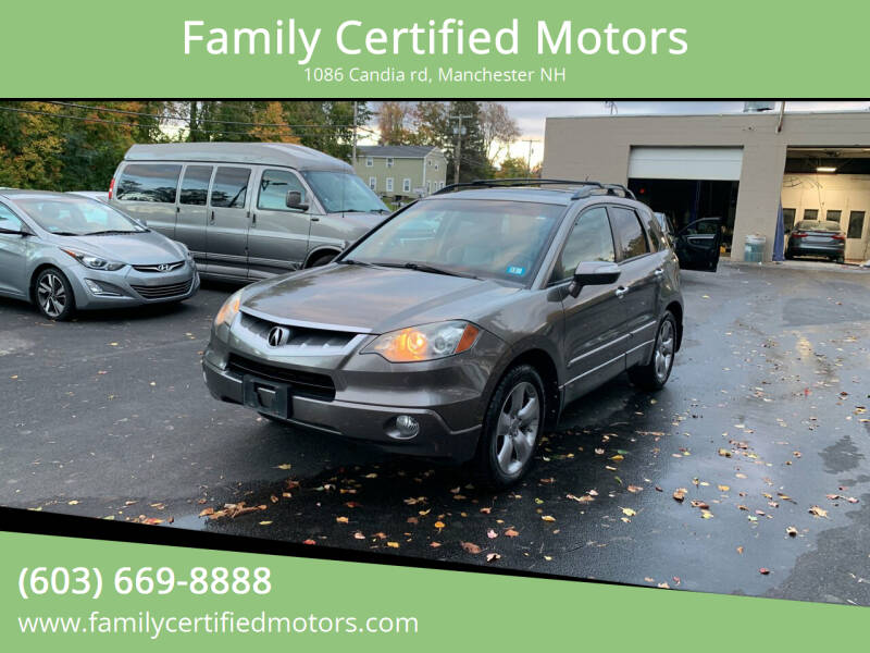 2008 Acura RDX for sale at Family Certified Motors in Manchester NH