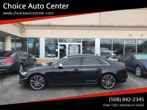 2018 Audi S4 for sale at Choice Auto Center in Shrewsbury MA