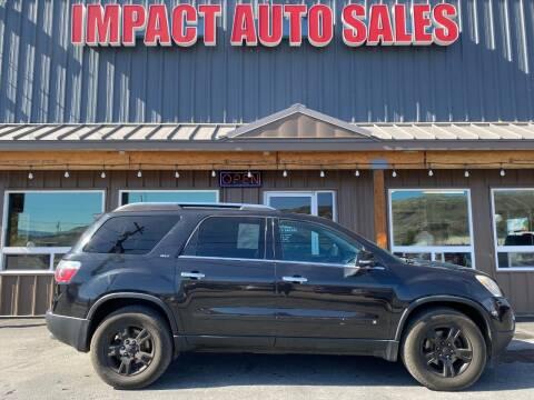 2011 GMC Acadia for sale at Impact Auto Sales in Wenatchee WA