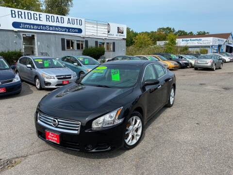 2012 Nissan Maxima for sale at Bridge Road Auto in Salisbury MA