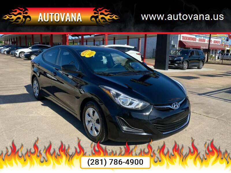 2016 Hyundai Elantra for sale at AutoVana in Humble TX