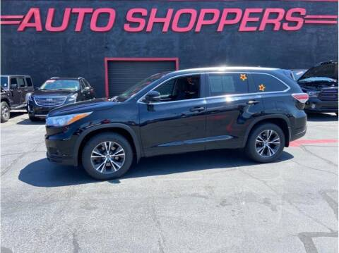2016 Toyota Highlander for sale at AUTO SHOPPERS LLC in Yakima WA