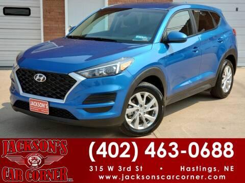 2019 Hyundai Tucson for sale at Jacksons Car Corner Inc in Hastings NE