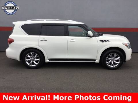 2012 Infiniti QX56 for sale at Road Ready Used Cars in Ansonia CT