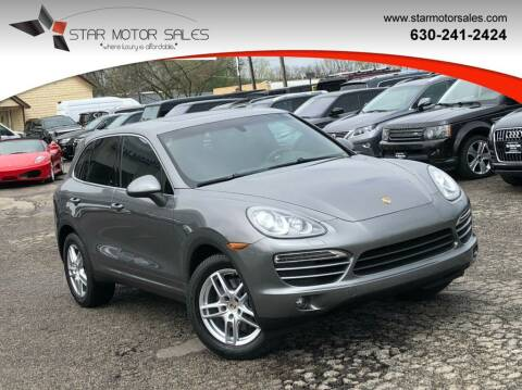 2013 Porsche Cayenne for sale at Star Motor Sales in Downers Grove IL