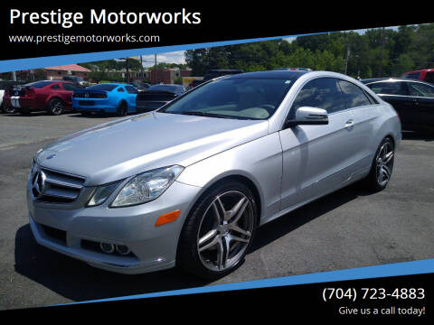 2010 Mercedes-Benz E-Class for sale at Prestige Motorworks in Concord NC