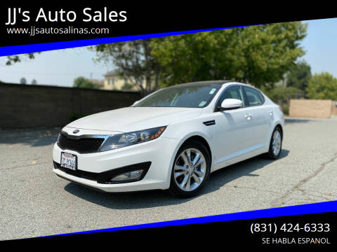 2013 Kia Optima for sale at JJ's Auto Sales in Salinas CA