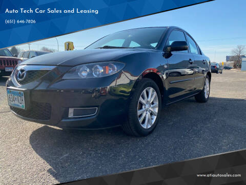 2008 Mazda MAZDA3 for sale at Auto Tech Car Sales and Leasing in Saint Paul MN