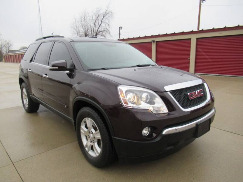 2009 GMC Acadia for sale at Perfection Auto Detailing & Wheels in Bloomington IL