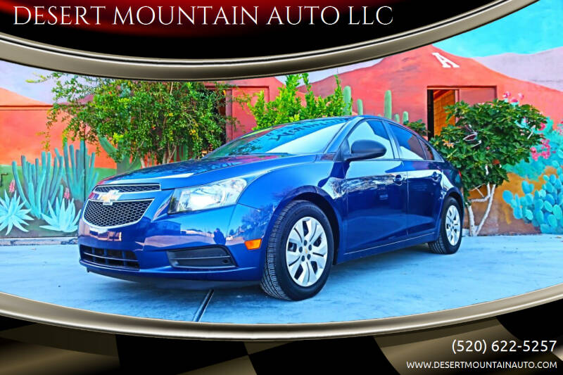 2013 Chevrolet Cruze for sale at DESERT MOUNTAIN AUTO LLC in Tucson AZ