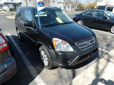 2006 Honda CR-V for sale at CAR CORNER RETAIL SALES in Manchester CT