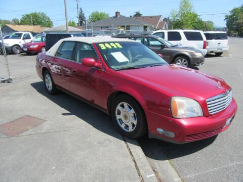 2001 Cadillac DeVille for sale at Car Link Auto Sales LLC in Marysville WA