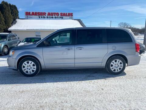 2014 Dodge Grand Caravan for sale at BLAESER AUTO LLC in Chippewa Falls WI