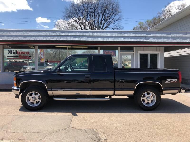 1997 Chevrolet C/K 1500 Series for sale at Midtown Motors in North Platte NE