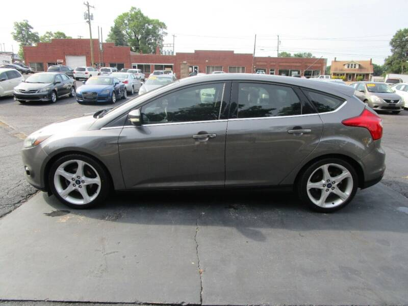 2014 Ford Focus for sale at Taylorsville Auto Mart in Taylorsville NC