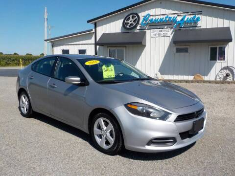 2016 Dodge Dart for sale at Country Auto in Huntsville OH