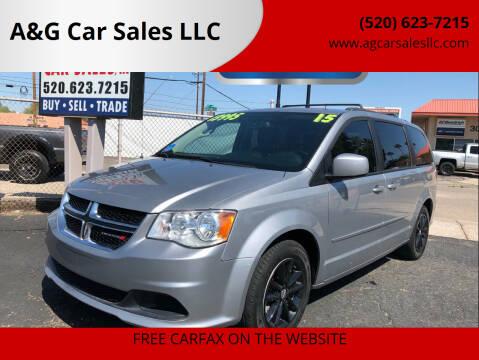 2015 Dodge Grand Caravan for sale at A&G Car Sales  LLC in Tucson AZ