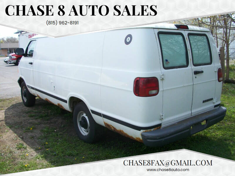 2003 Dodge Ram Cargo for sale at Chase 8 Auto Sales in Loves Park IL