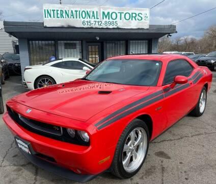 2010 Dodge Challenger for sale at International Motors Inc. in Nashville TN