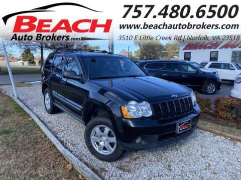 2009 Jeep Grand Cherokee for sale at Beach Auto Brokers in Norfolk VA