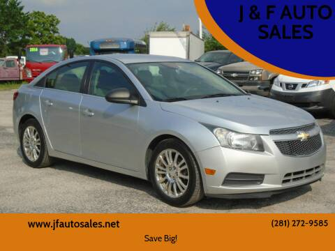 2012 Chevrolet Cruze for sale at J & F AUTO SALES in Houston TX