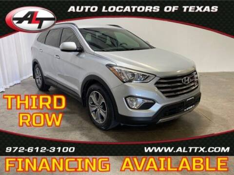 2015 Hyundai Santa Fe for sale at AUTO LOCATORS OF TEXAS in Plano TX