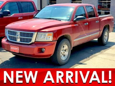 2008 Dodge Dakota for sale at Jacksons Car Corner Inc in Hastings NE
