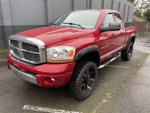 2006 Dodge Ram Pickup 3500 for sale at APX Auto Brokers in Lynnwood WA