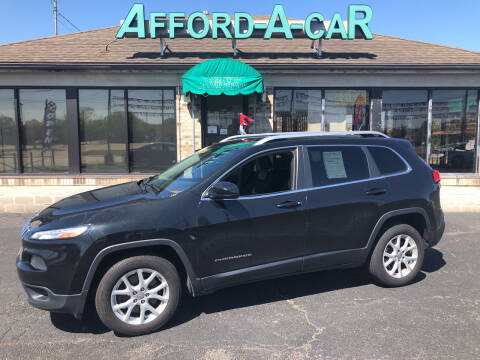2014 Jeep Cherokee for sale at Afford-A-Car in Moraine OH