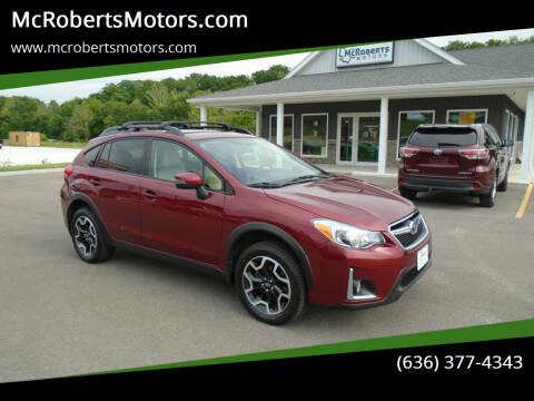 2016 Subaru Crosstrek for sale at McRobertsMotors.com in Warrenton MO