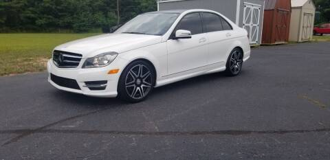 2014 Mercedes-Benz C-Class for sale at Elite Auto Brokers in Lenoir NC