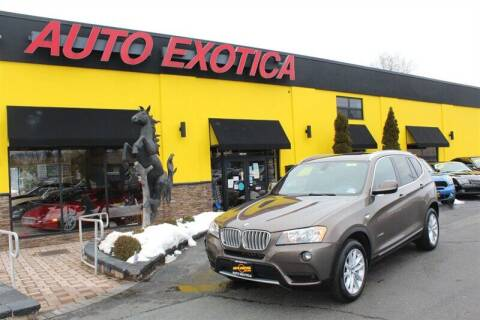2013 BMW X3 for sale at Auto Exotica in Red Bank NJ