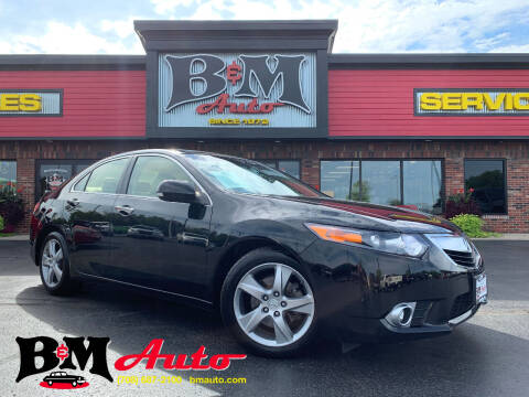 2013 Acura TSX for sale at B & M Auto Sales Inc. in Oak Forest IL