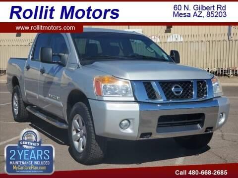 2012 Nissan Titan for sale at Rollit Motors in Mesa AZ