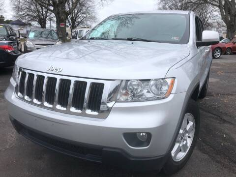 2011 Jeep Grand Cherokee for sale at Atlantic Auto Sales in Garner NC