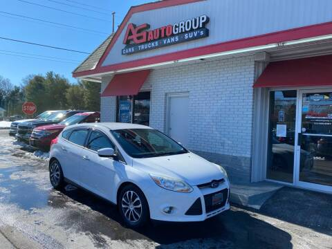 2012 Ford Focus for sale at AG AUTOGROUP in Vineland NJ