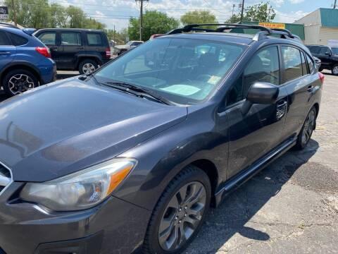 2012 Subaru Impreza for sale at Dan's Auto Sales in Grand Junction CO