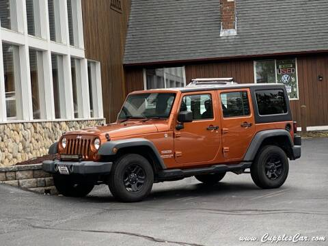 2011 Jeep Wrangler Unlimited for sale at Cupples Car Company in Belmont NH