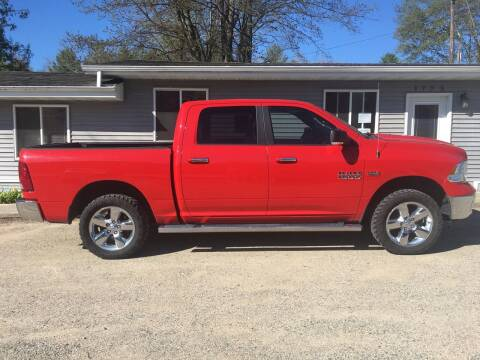 2014 RAM Ram Pickup 1500 for sale at Winwood Auto Sales in Farwell MI