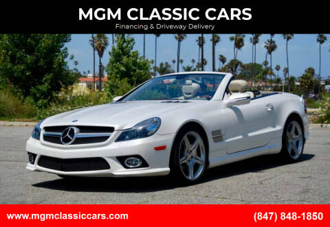 2011 Mercedes-Benz SL-Class for sale at MGM CLASSIC CARS-New Arrivals in Addison IL