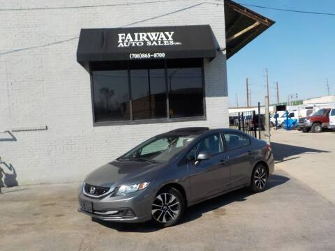 2013 Honda Civic for sale at FAIRWAY AUTO SALES, INC. in Melrose Park IL