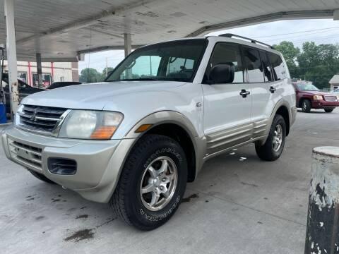 2002 Mitsubishi Montero for sale at JE Auto Sales LLC in Indianapolis IN