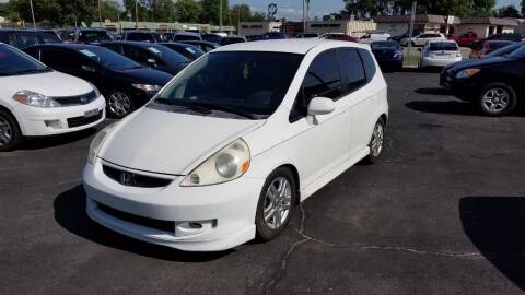 2007 Honda Fit for sale at Nonstop Motors in Indianapolis IN