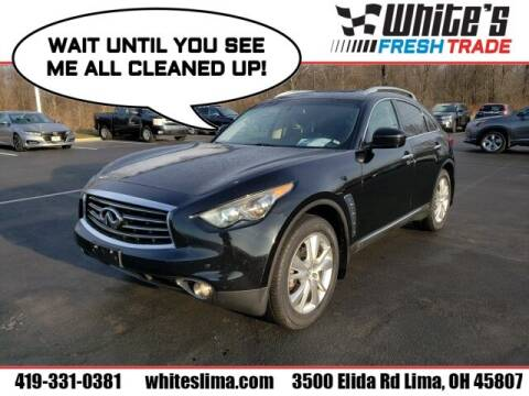 2012 Infiniti FX35 for sale at White's Honda Toyota of Lima in Lima OH