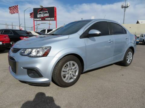 2017 Chevrolet Sonic for sale at Moving Rides in El Paso TX
