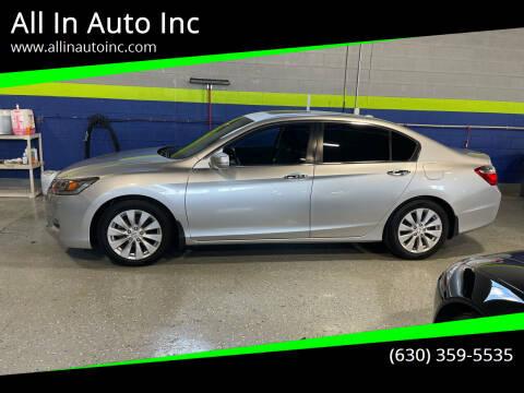 2014 Honda Accord for sale at All In Auto Inc in Addison IL