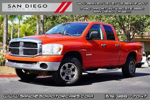 2008 Dodge Ram Pickup 1500 for sale at San Diego Motor Cars LLC in San Diego CA